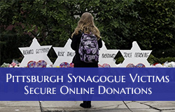Pittsburgh Synagogue Victims: Secure, Online Donations